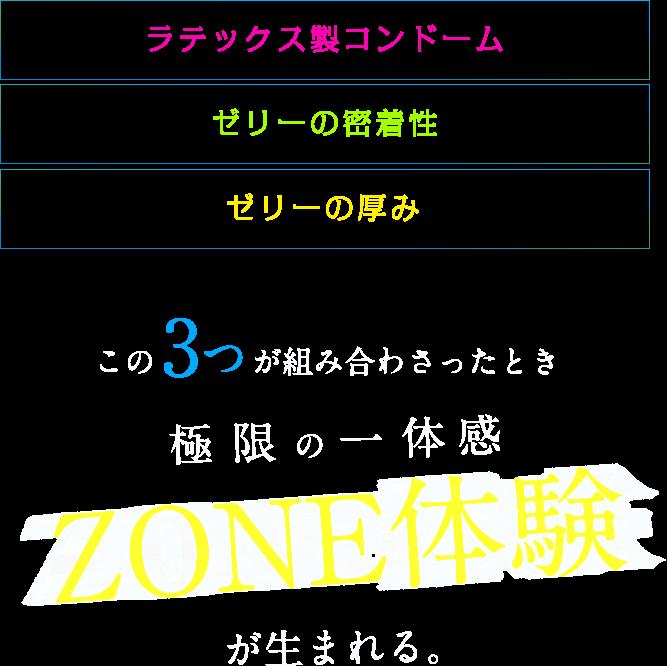 極限の一体感 ZONE体験が生まれる。